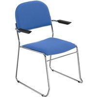 Pack Of 4 Washington Armchairs, Aluminium/Saffron