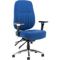 Cadiz Executive Fabric Operator Chair, Blue