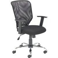 Panton Mesh Back Operator Chair, Black