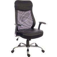Lexus Executive Mesh Chair, Black