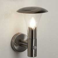 Strand Cone Shaped Stainless Steel Outdoor Wall Light