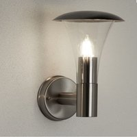 Strand Stainless Steel Outdoor Wall Light