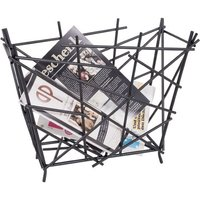 image-Mikado Stylish Anthrazit Finish Magazine Rack