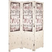 image-Optical Contemporary Room Divider In Vintage Look