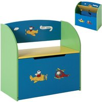 Product photograph showing Bambino Childrens Bench With Storage