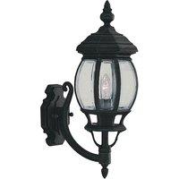 Bel Aire Cast Aluminium Uplight Outdoor Wall Lamp
