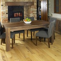 Norden Wooden Dining Table Large In Walnut