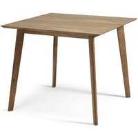 Weinstein Dining Table Square In Solid Walnut