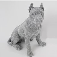 Product photograph showing Sitting Dog Sculpture