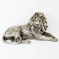 Product photograph showing Sitting Lion Sculpture