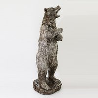 Product photograph showing Standing Bear Sculpture