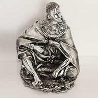 Product photograph showing Tribal Lady Sculpture