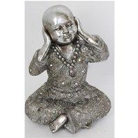 Product photograph showing Hear No Evil - Monk Big Size Sculpture