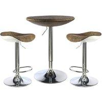 Ripley Textilene Top Bar Table With 2 Bar Stool