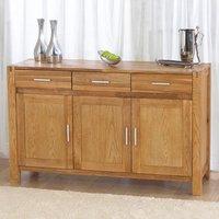 Milan Oak Modern Sideboard