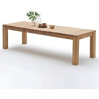 Abbot Extendable Dining Table Extra Large In Bianco Oak