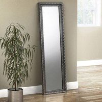 Allegro Dressing Mirror In Pewter