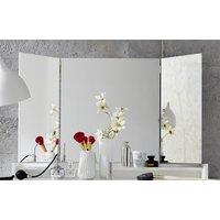 Product photograph showing Amanda Folding Dressing Mirror