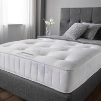 Product photograph showing Angelica Memory Pocket Damask Fabric Super King Size Mattress