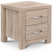 Armedia Bedside Cabinet In Sonoma Oak With 2 Drawers