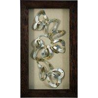 Framed Gold Swirls Wall Art