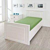 Danzig Modern Wooden Single Bed In White