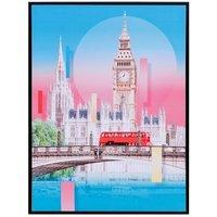 Product photograph showing Big Ben London Canvas Print Wall Art