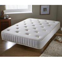 Product photograph showing Bonnell Spring And Memory Foam King Size Mattress