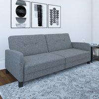 Boston Linen Sofa Bed In Grey