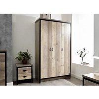 Boston Wooden 4Pc Bedroom Furniture Set In Oak