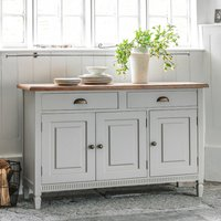 Bronte Sideboard In Taupe With 3 Doors And 2 Drawers