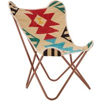 Product photograph showing Cafenos Assorted Colours Butterfly Bedroom Chair