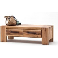 Sussex Hallway Bench Solid Wild Oak With Drawers