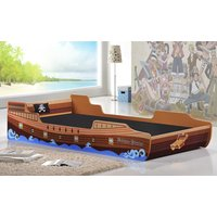 Caribbean Pirate Ship Single Bed