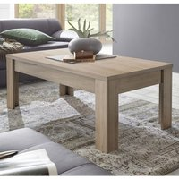 Product photograph showing Carney Contemporary Coffee Table Rectangular In Cadiz Oak