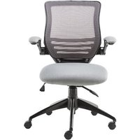 Product photograph showing Clay Bracket Shaped Office Chair In Grey