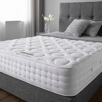 Product photograph showing Cleburne Gel Luxury Micro-quilted Fabric King Size Mattress