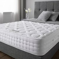 Product photograph showing Cleburne Gel Micro-quilted Fabric Super King Size Mattress