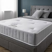 Product photograph showing Cleburne Orthopaedic Quilted Damask Fabric Double Mattress