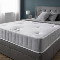 Product photograph showing Cleburne Orthopaedic Quilted Damask Fabric King Size Mattress