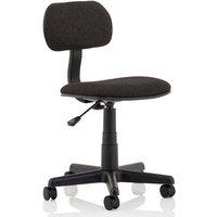 Clerk Fabric Office Typist Chair In Black