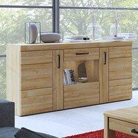 Corco LED Wooden 3 Doors Sideboard In Grandson Oak