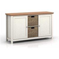 Cornet Wooden Sideboard In Cream And Oak Finish