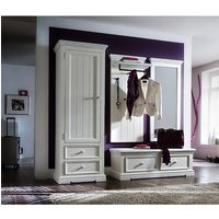 Corrin Wooden Hallway Furniture Set 2 In White