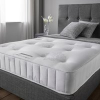 Product photograph showing Crescent Elite Pocket Luxury Damask Fabric Super King Size Mattress