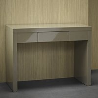 Puro Dressing Table In Stone High Gloss With 1 Drawer