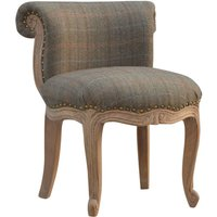 Product photograph showing Cuzco Fabric Accent Chair In Multi Tweed And Sunbleach