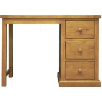 Cyprian Wooden Dressing Table In Chunky Pine
