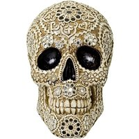 Product photograph showing Tesk Decorative Model Skull Sculpture