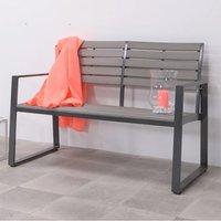 Detrake Garden Seating Bench In Carbon Black